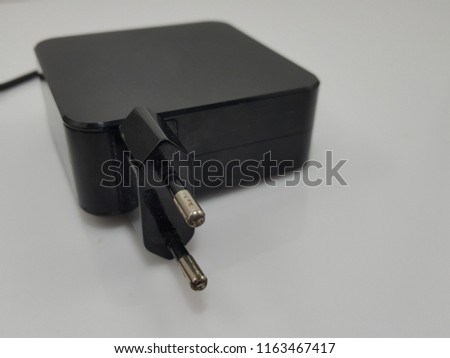 Black notebook adapter
