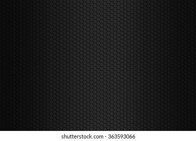Black octagon background