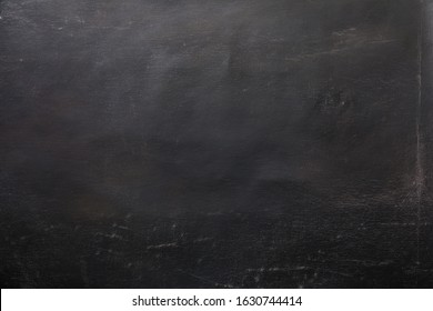 Black oil paint on canvas background texture surface copy space for design