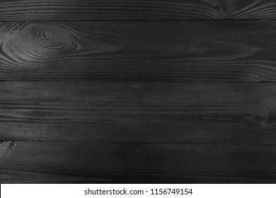 black old wood background