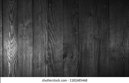 black old wood background