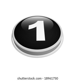 black one number button