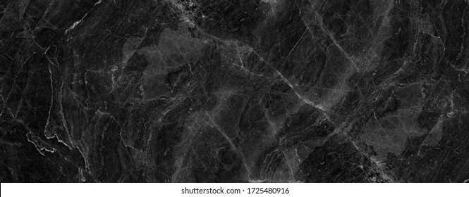 black onyx marble texture background. black marble wallpaper and counter tops. black marble floor and wall tile. black marbel texture.  natural granite stone. abstract vintage marbel.  - Shutterstock ID 1725480916