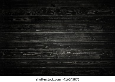 Black pallet wood wall background