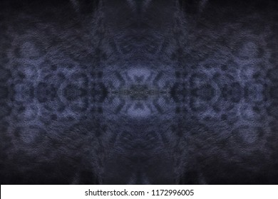 Black panther skin texture and wool animal skins background