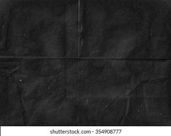 Black paper background. Old