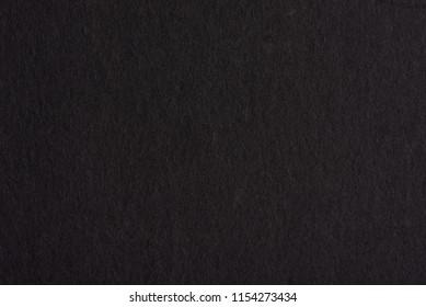 Black paper card background. Blank dark paper texture