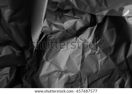 Black Paper Texture Wrinkled Paper Wallpaper Stock Photo Edit Now