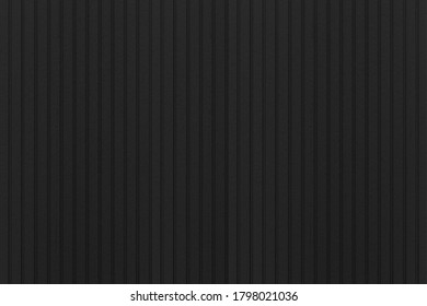 Black patterned plastic wall panels texture and seamless background