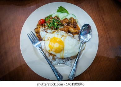 black pepper chiken rice with egg