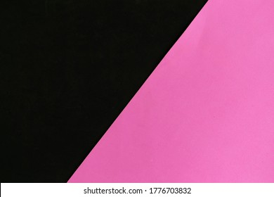 Black and pink geometric background, minimal concept