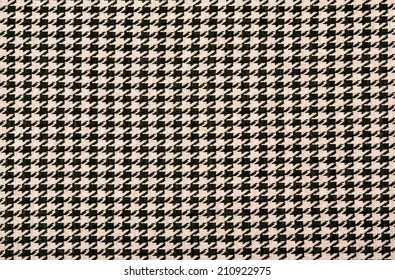 Black and pink houndstooth pattern. Dogstooth check design as background.