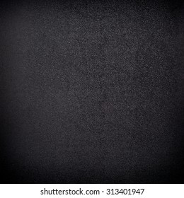 Black plastic sheet texture and background