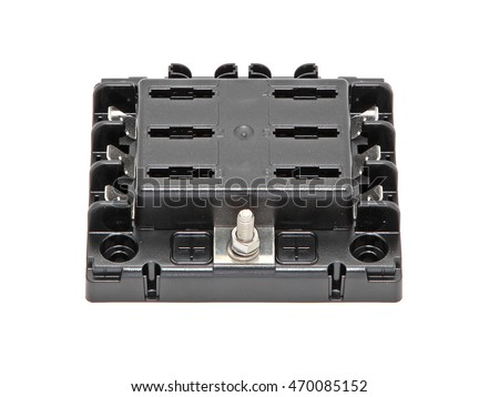 black plastic waterproof marine fuse box stock photo edit now rh shutterstock com