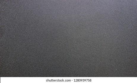 black plastic.matte plastic.