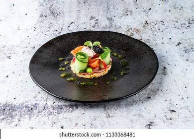 Fish Roe Salad Images, Stock Photos & Vectors   Shutterstock