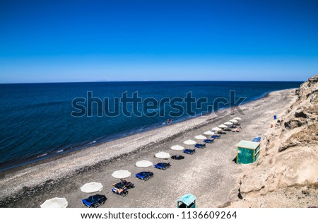 Black Pori Beach on
