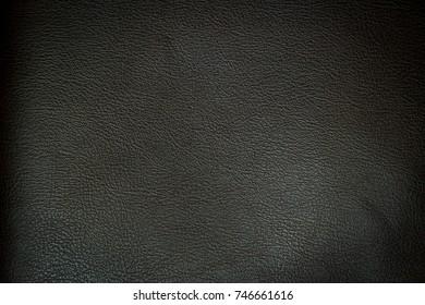 Black PVC leather