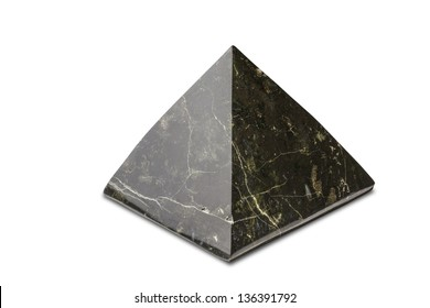 Black Pyramid onyx stone.