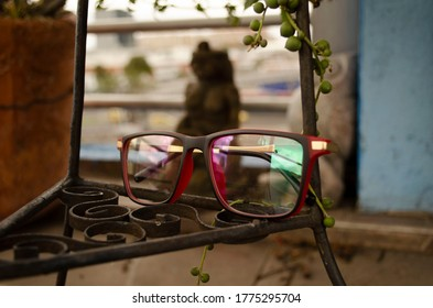 Black and red glasses in a vintage scenerio - Shutterstock ID 1775295704