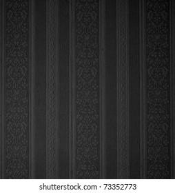 black retro damask wallpaper background See my portfolio for more