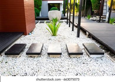 Gravel Garden Images Stock Photos Vectors Shutterstock