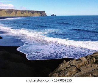Black Sand Beach Reynisfjara Iceland