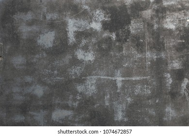 Black scratched grunge background, distressed, aged texture