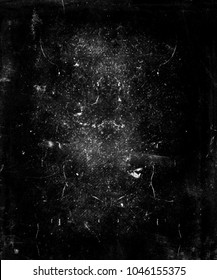 Black scratched grunge background, scary horror distressed texture