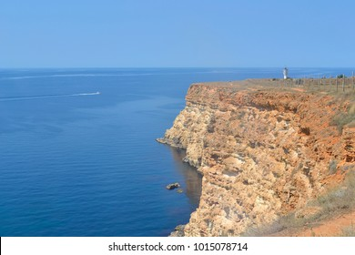 Black sea coast near Sevastopol, Crimea