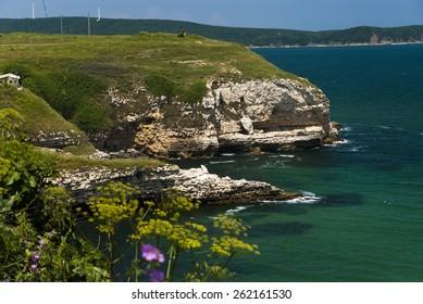 Black Sea coast in Turkey K?rklareli Province kiyikoy