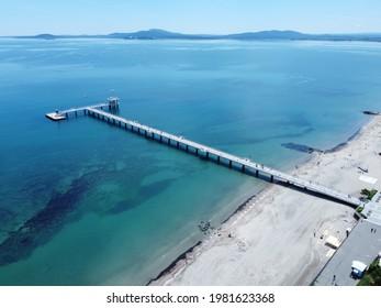 Black Sea Pier Burgas Bulgaria