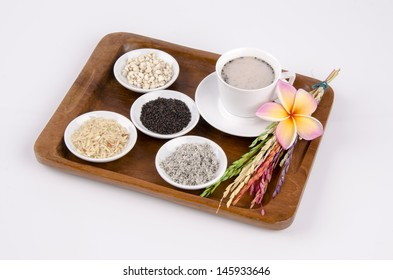 Black Sesame Cereal drinks healthy body and healthy mind.