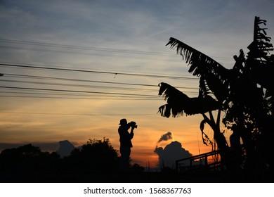 black Shadow Bridge In Thailand