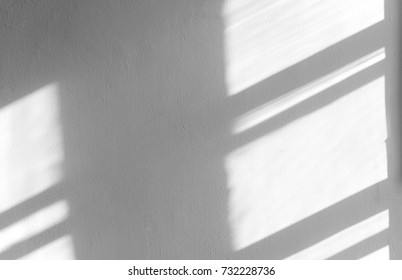 Black shadows on the concrete wall, abstract shadow, background for ideas