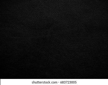 Black shiny leather, skin texture seamless pattern background with vignette
