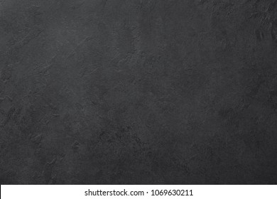Black slate or stone texture background, horizontal