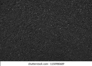 Black Soil Texture Background