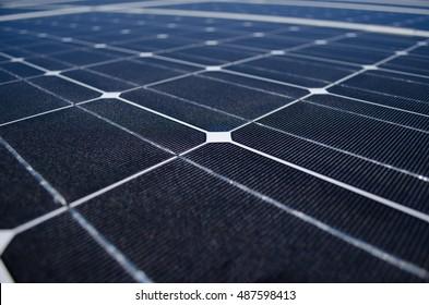 Black Solar Panel for Eco Friendly Energy