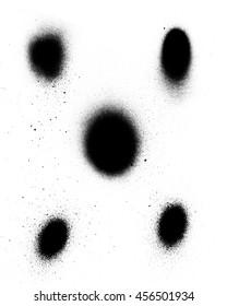 Black spray paint