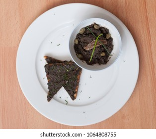 Black spread olive tapenade