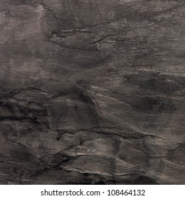 Black square marble texture background