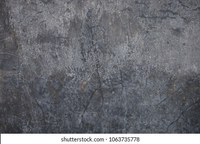 Black stain grudge rustic pattern wall built with cement