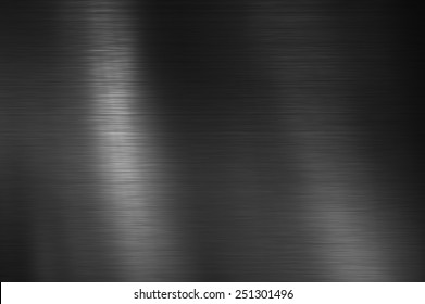 Black Stainless steel texture metal background