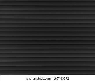 black steel blind