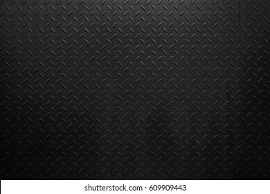 Black steel texture background