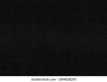 Black stingray skin shagreen texture seamless