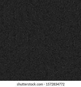 Black stone seamless texture, stone background, granite seamless texture