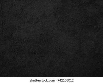Black stone, slate texture background
