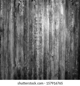 black stripped metal texture ; abstract grunge background